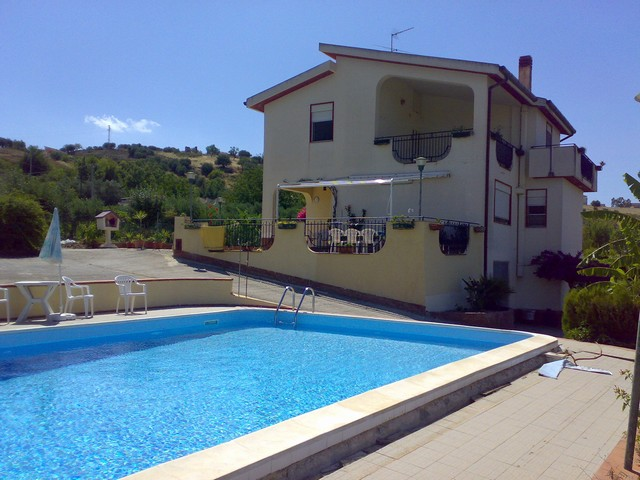 Villa with Swimming Pool in Cianciana, Agrigento, Sicily