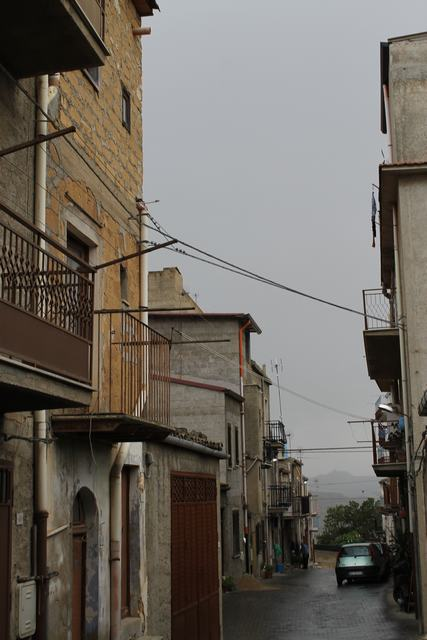 Panoramic Townhouse requiring updating, Cianciana, Agrigento, Sicily