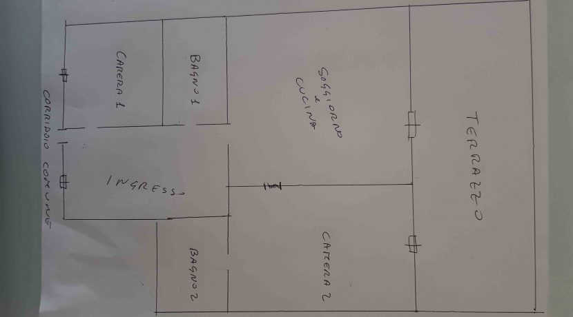disegno piantina