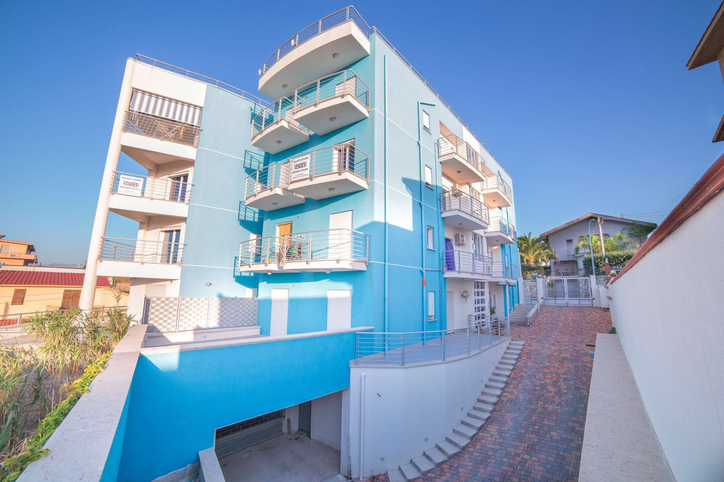 New Seaview Apartments in Balestrate, Palermo, Sicily