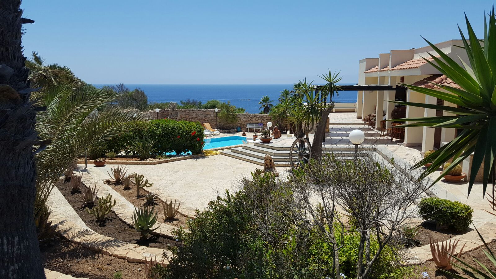 Majestic Seafront Villa on the island of Lampedusa with Pool, Sicily