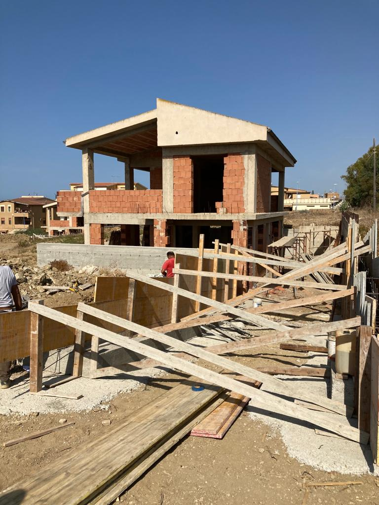 Spectacular Seaview Villa under construction in San Leone (Agrigento), Sicily