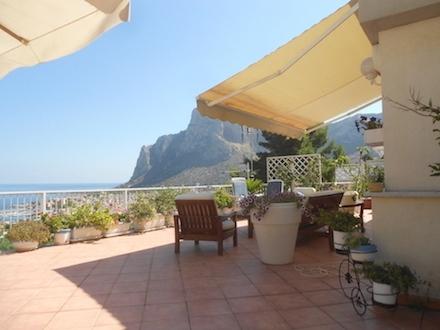 Panoramic Seaview Villa in Sferracavallo, Palermo, Sicily